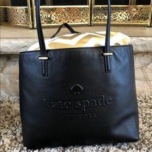 Black Kate Spade tote